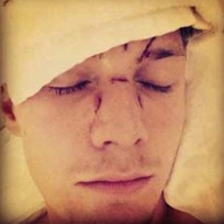 Barron hilton beatdown photo