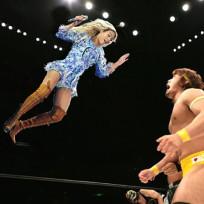 Beyonce Wrestles
