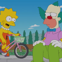 Krusty and Lisa