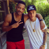 Will Smith and Justin Bieber