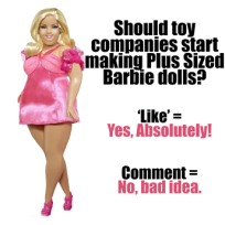 Plus size barbie pic