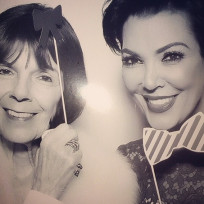 Kris-jenner-with-a-bow-tie