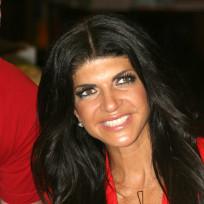 Teresa Giudice at a Book Signing