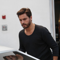 Scott Disick with a Beard