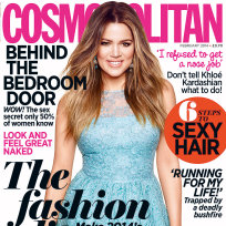 Khloe Kardashian UK Cosmo Cover