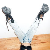 Upside Down Kat Graham