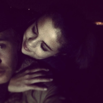 Justin Bieber and Selena Gomez on Instagram