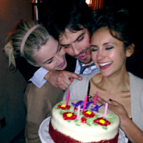 Nina Dobrev Birthday Celebration
