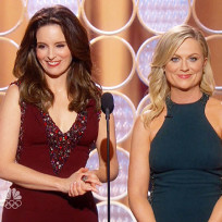 Grade Tina Fey and Amy Poehler as hosts of the 2014 Golden Globes.