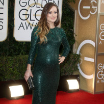 Olivia Wilde at 2014 Golden Globes