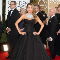 Sofia vergara at 2014 golden globes