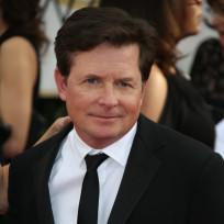Michael j fox at the golden globes
