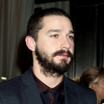 Shia LaBeouf with a Beard