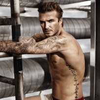 David Beckham H&M Underwear Photo