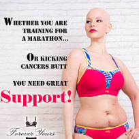 Elly mayday post chemo lingerie ad