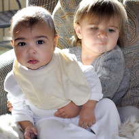 North West and Penelope