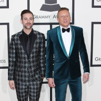 Macklemore and Ryan Lewis at the Grammys