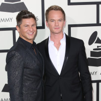 Neil Patrick Harris at the Grammys