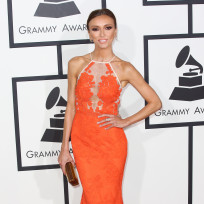 Giuliana rancic at the 2014 grammys