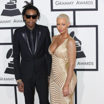 Wiz-khalifa-and-amber-rose-at-the-grammys