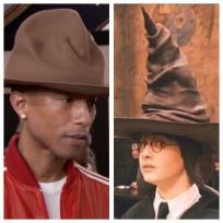 Pharrell and Harry Potter