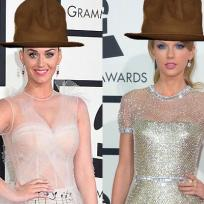 Katy-perry-and-taylor-swift-in-pharrells-hat