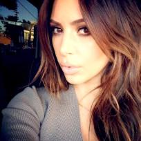 Do you like Kim Kardashian as a brunette?