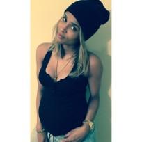 Ciara Baby Bump 2