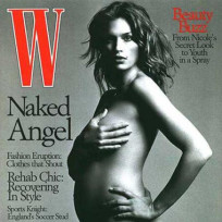Cindy Crawford: Nude in W!