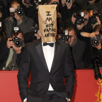 Shia labeouf bag on head