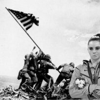 Not-impressed-at-iwo-jima