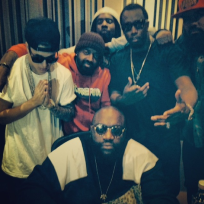 Justin bieber with rapper