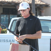 Bruce Jenner Goes Shopping