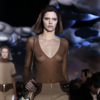 What do you think of Kendall Jenner exposing her boobs on the runway?