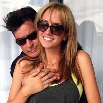 Brett rossi and charlie sheen pic