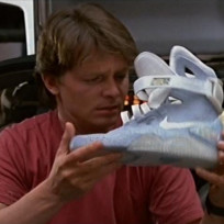 Back to the Future Nikes