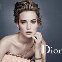 Jennifer Lawrence: Topless for Dior