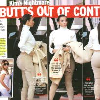 Kim Kardashian Butt Photos