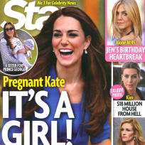 Kate middleton expecting a girl