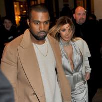 Kanye Leads Kim