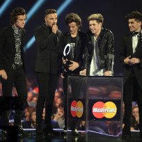 One direction at the brit awards
