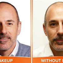 Matt lauer no makeup