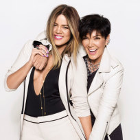 Khloe and Kris in Cosmopolitan