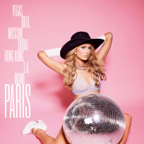 Paris hilton v magazine photo