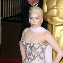 Lady Gaga at the Oscars