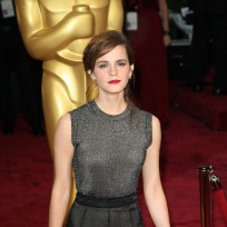 Emma Watson at the Oscars