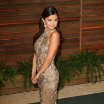 Selena Gomez at the Vanity Fair Party