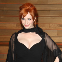 Christina hendricks with cleavage