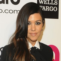 Kourtney Kardashian Smiles