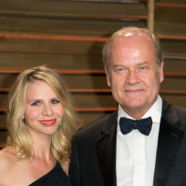 Kayte walsh and kelsey grammer photo